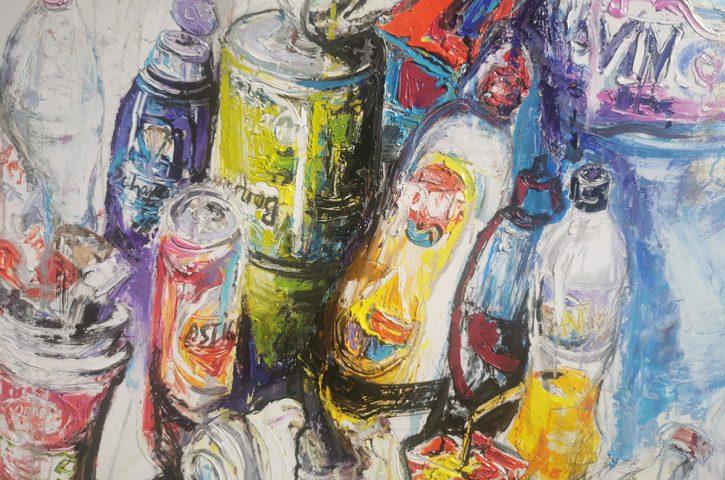 """Безкрайно откровено за консуматорството или изложбата на Мария Райчева """"Еко тур"""""""